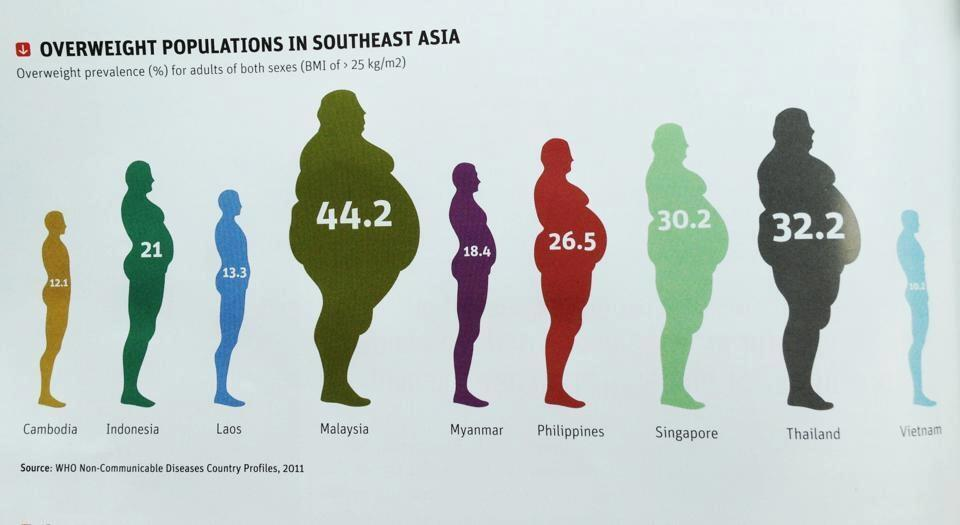 Obesity In Malaysia on 1