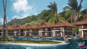 Benchmark Property Management on Malcapuya Island Resort Development  Palawan  Philippines
