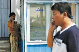 Myanmar telephone