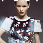 Vietnamese model cover girl of Canadian fashion magazine