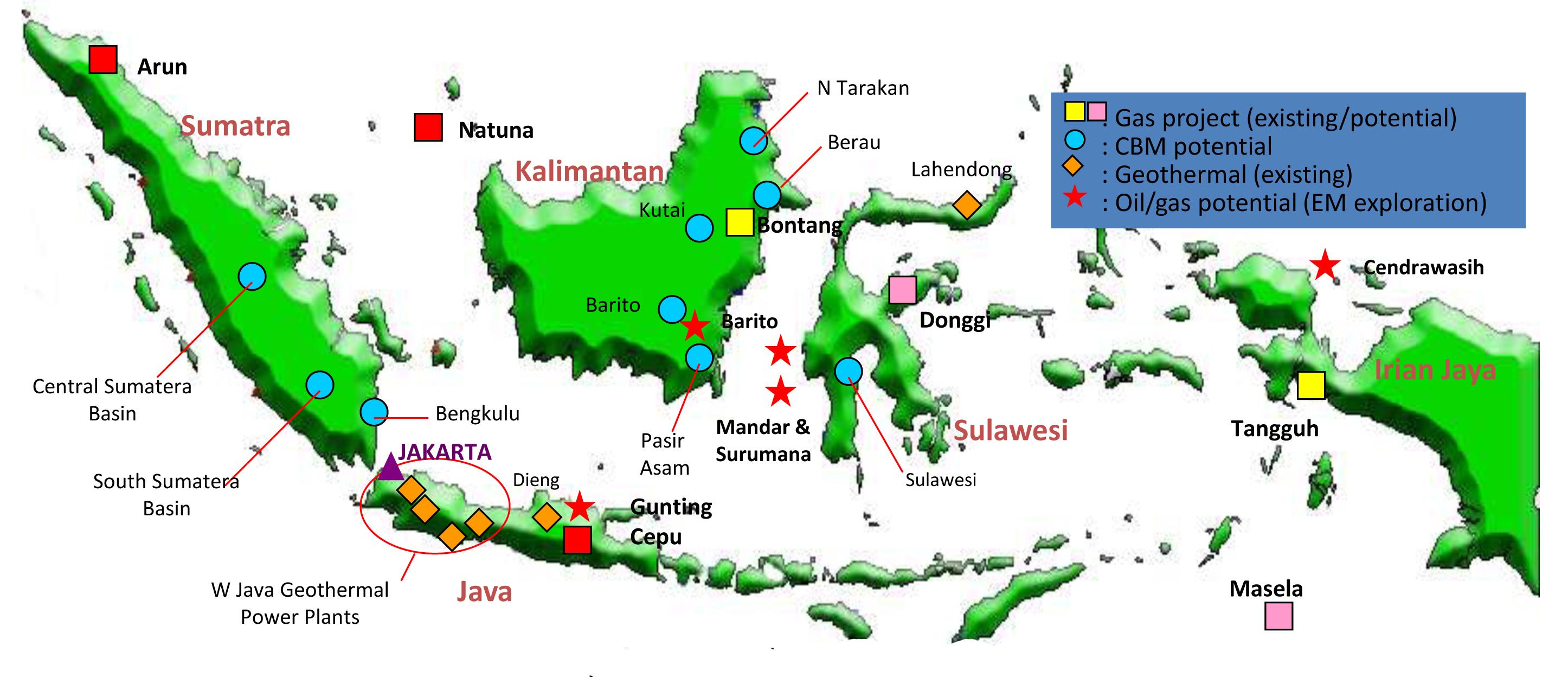 Gas Di Indonesia