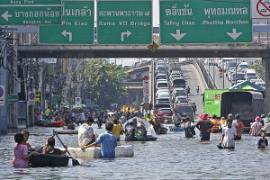 Thai flooding