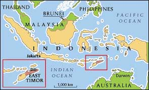 eat timor-map
